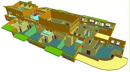 3d map of school